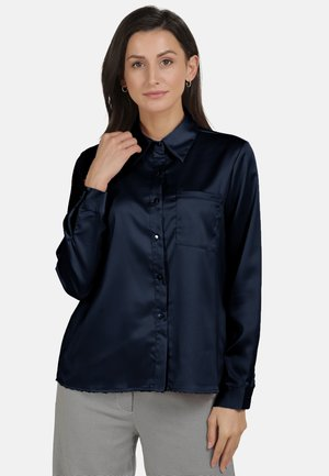 Button-down blouse - marine