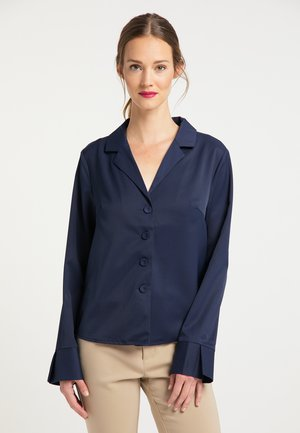 BLUSE - Button-down blouse - marine