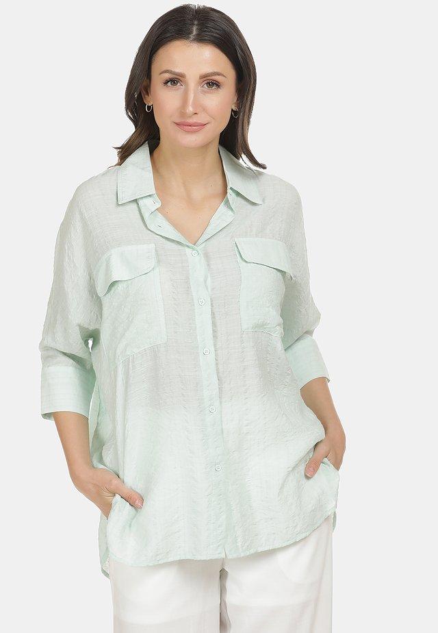 BLUSE - Button-down blouse - minze