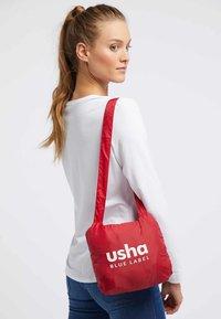 usha - Kamizelka - dark red - 3