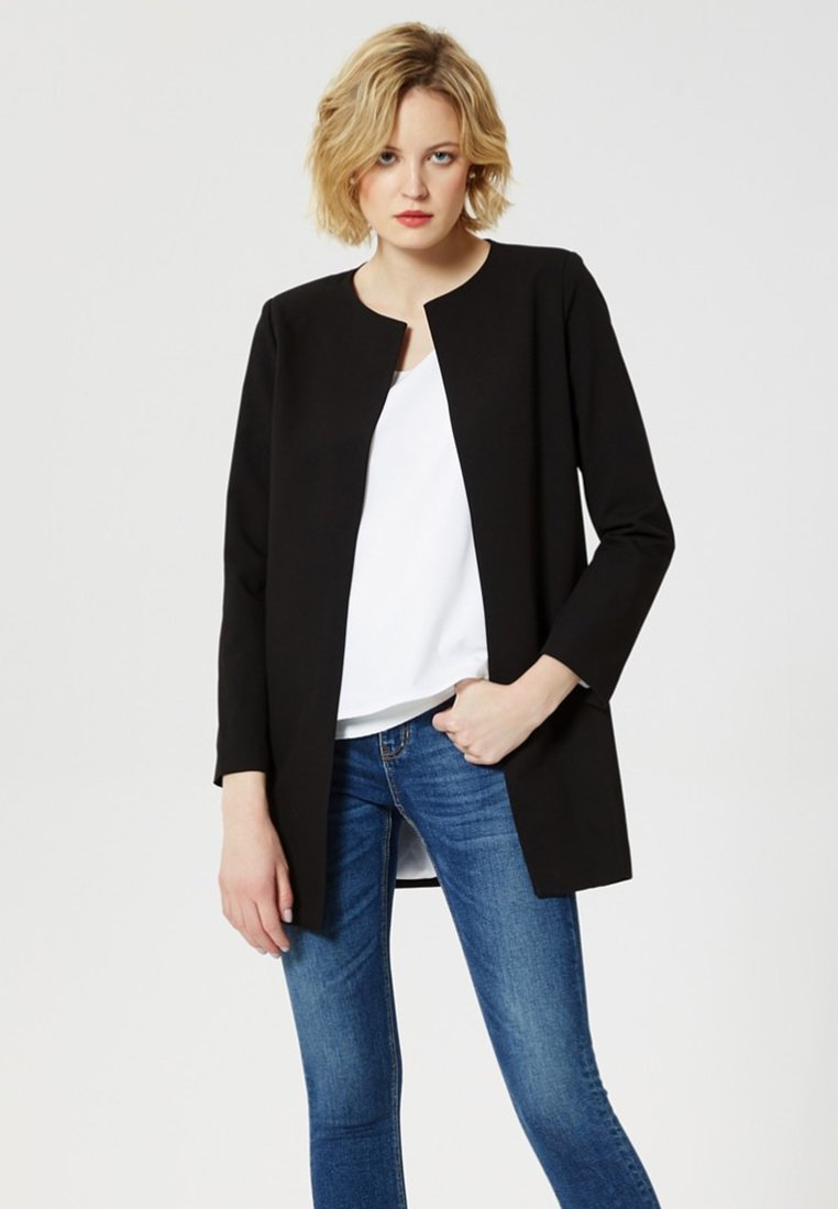 Usha - Short coat - black