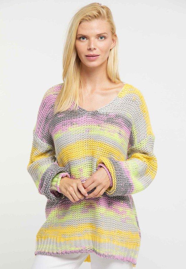 Jersey de punto - multicolor