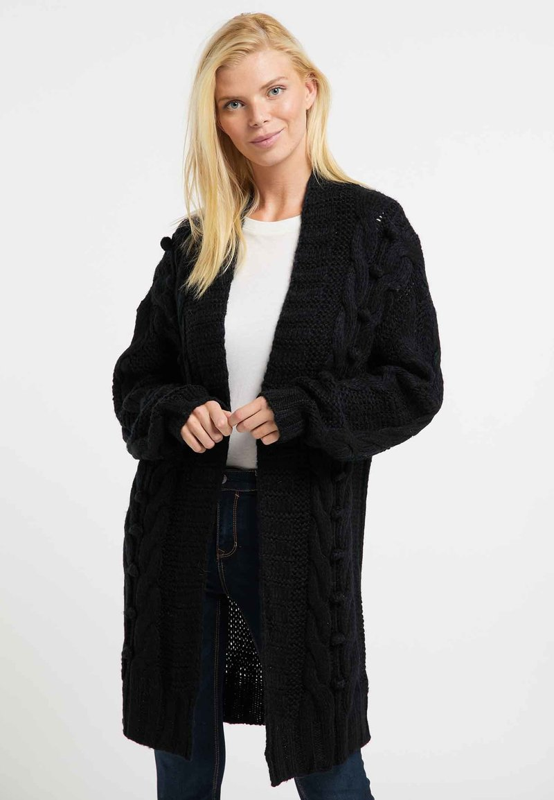 usha - Cardigan - black