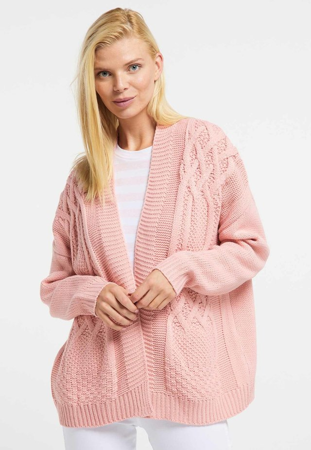Neuletakki - light pink