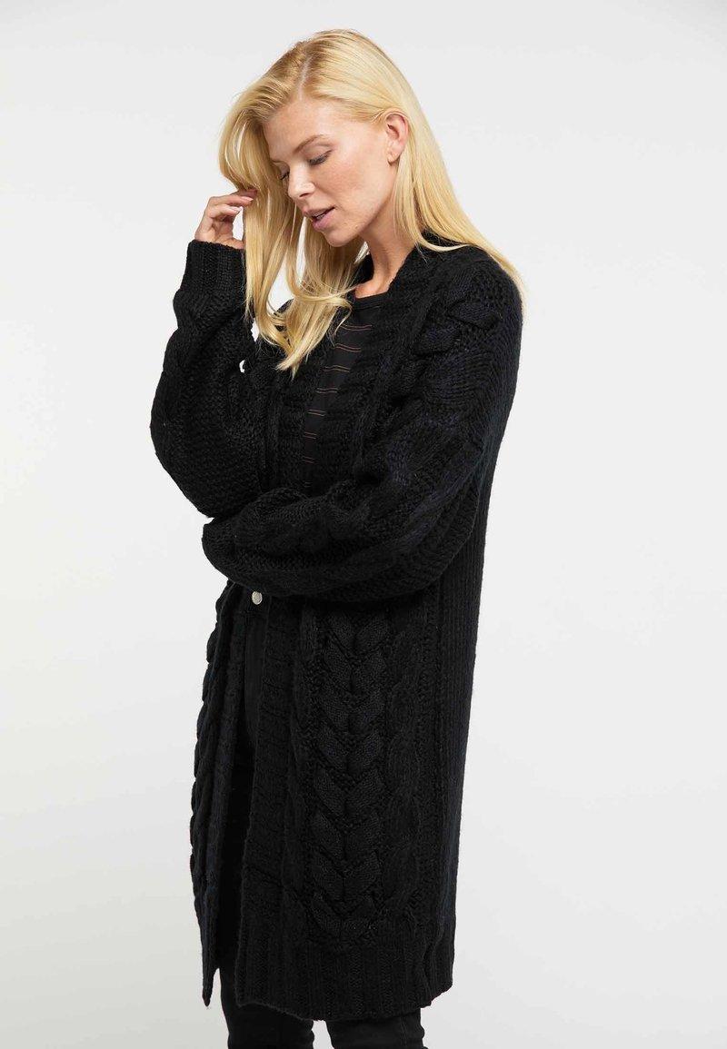 usha - Cardigan - black