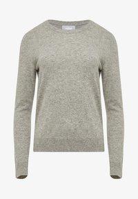 usha - Sweter - light grey melange - 4