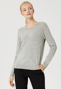 usha - Sweter - light grey melange - 0