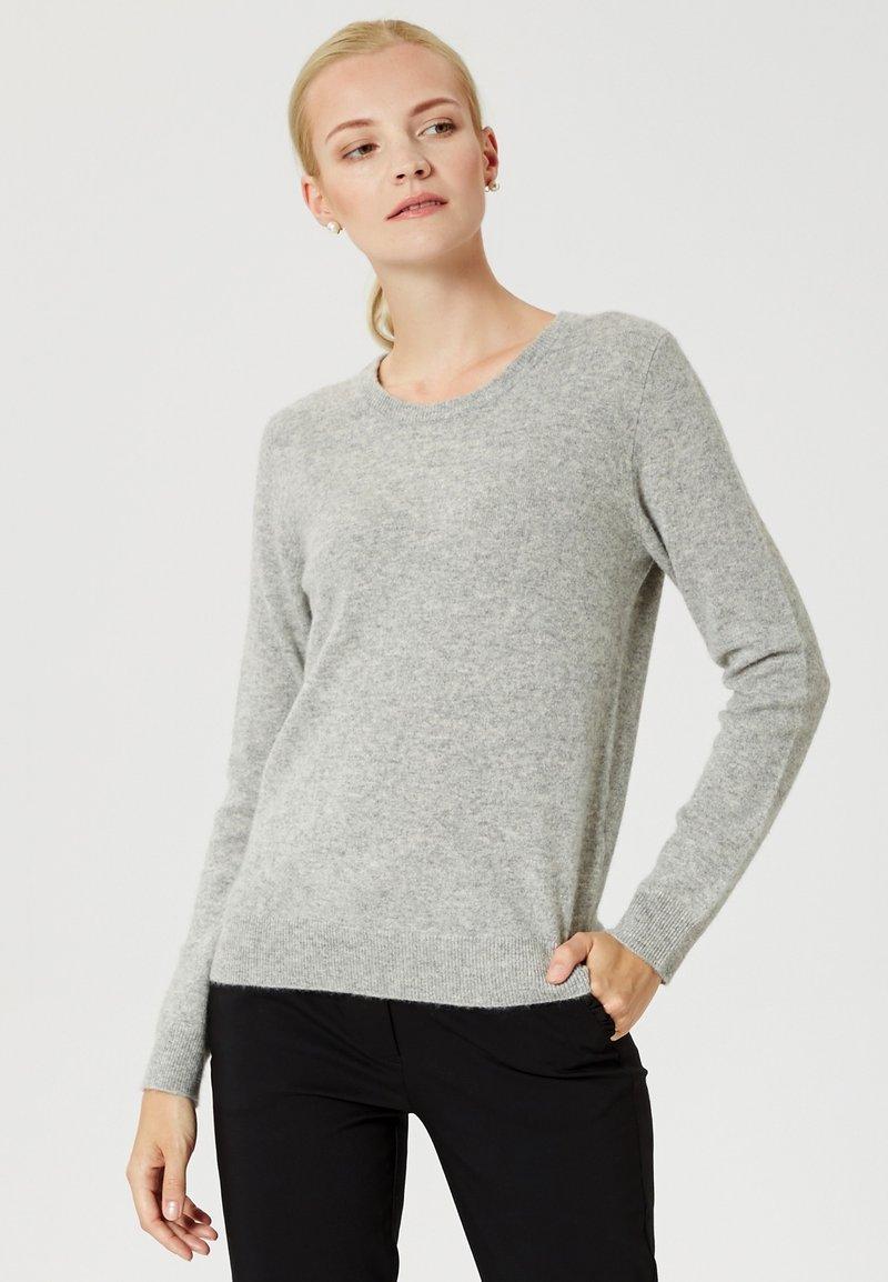 usha - Sweter - light grey melange