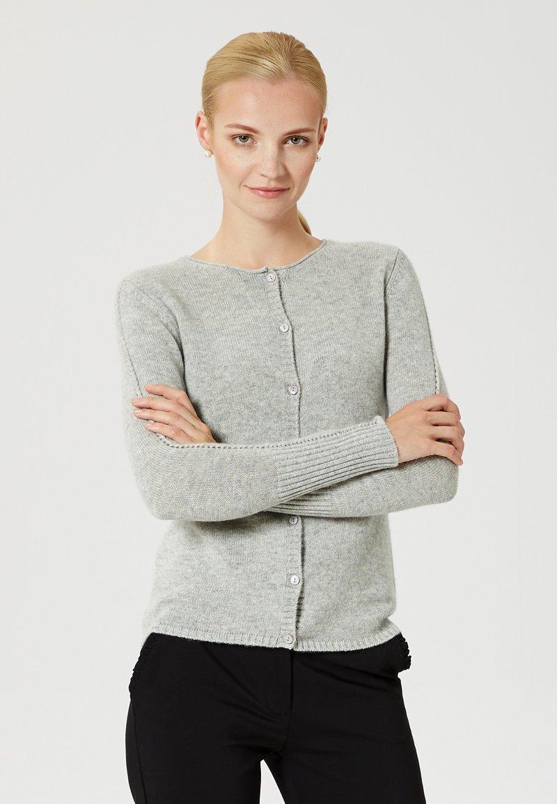Usha - Cardigan - light grey