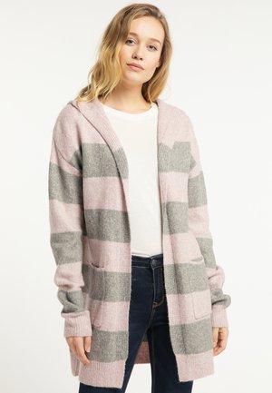 Vest - pink/grey