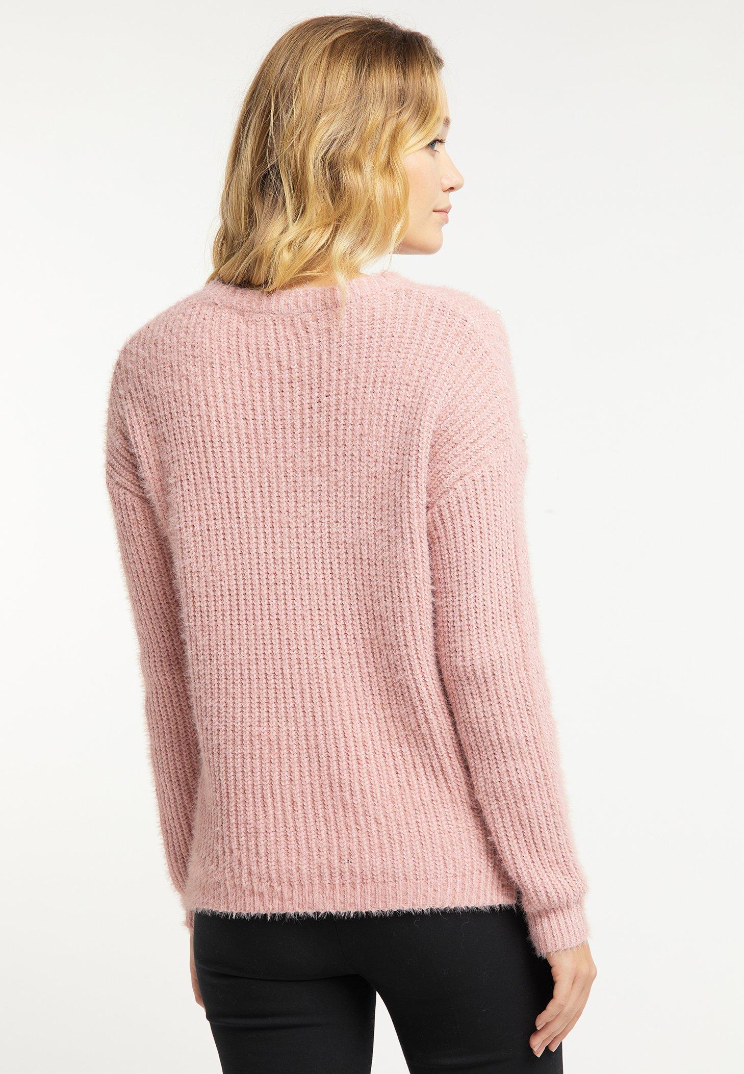 Usha Maglione dark pink