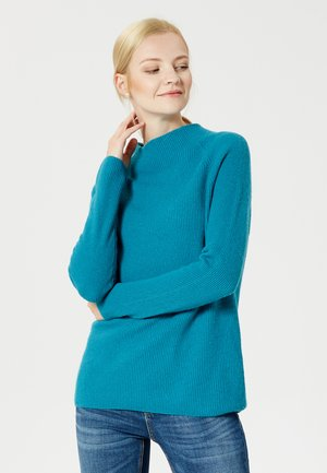 Jersey de punto - dark turquoise