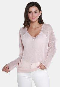usha - Sweter - pink - 0