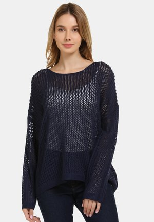 Jersey de punto - dark blue