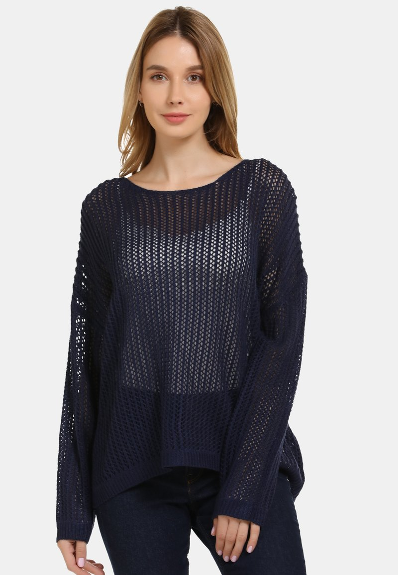 usha - Jersey de punto - dark blue