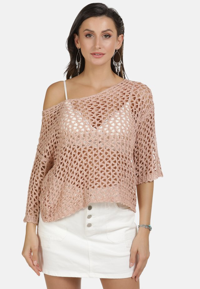 PULLOVER - Jersey de punto - rosa
