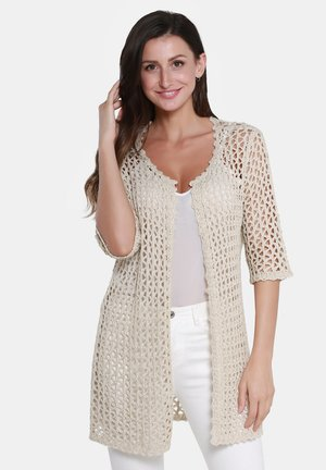 STRICKJACKE - Cardigan - beige