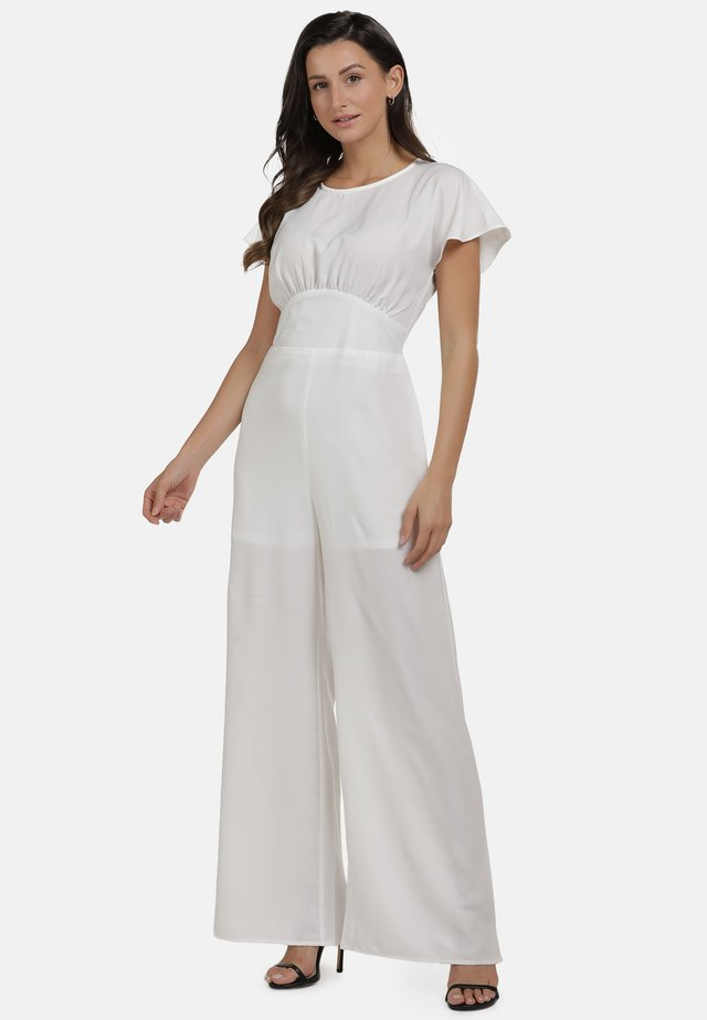JUMPER - Overall / Jumpsuit - wollweiss