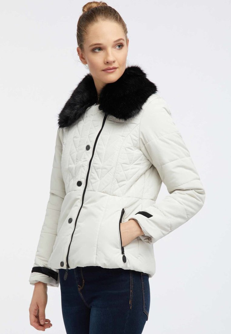usha - Kurtka zimowa - wool white