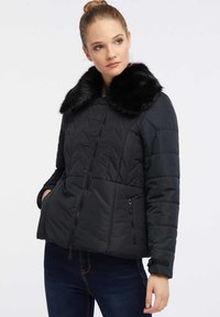 usha - Winterjas - black - 0