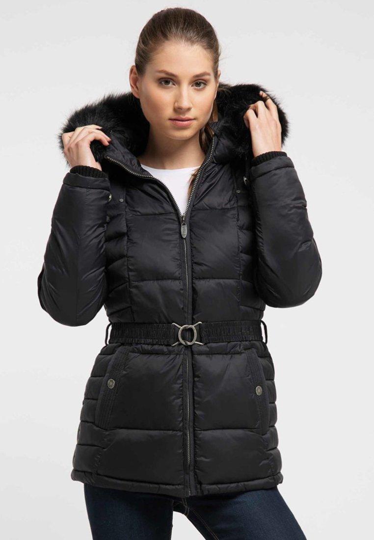 Usha - Winter coat - black