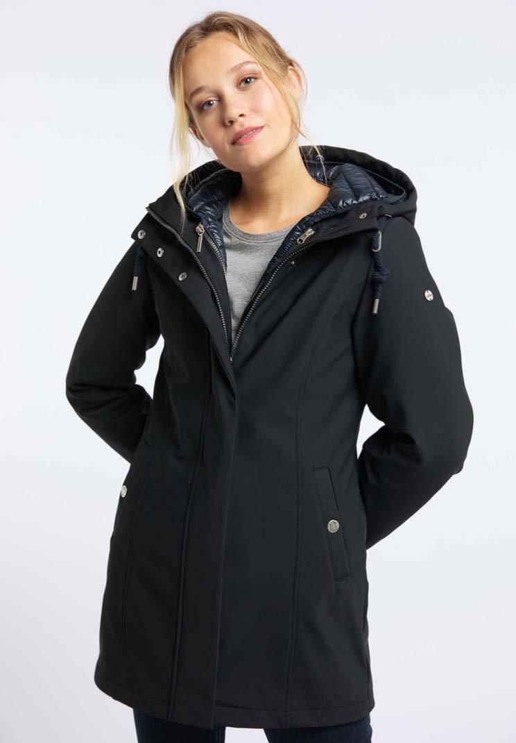 Usha - 3 IN 1  - Winter coat - black