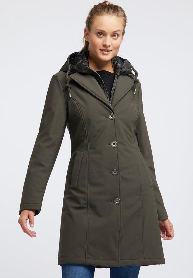 Cappotto corto - olive