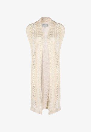 LONGWESTE - Kofta - woolen white