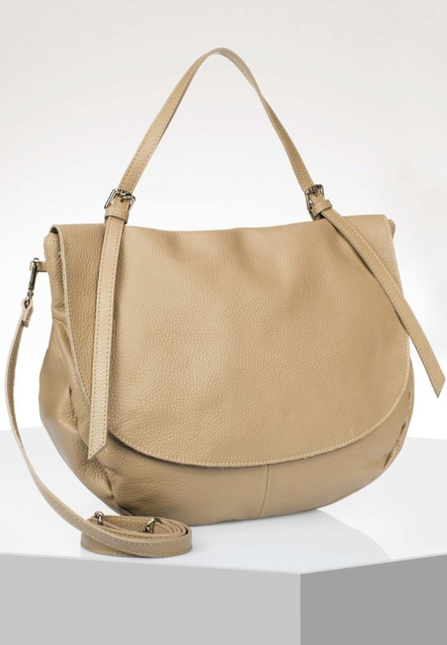 Handbag - taupe
