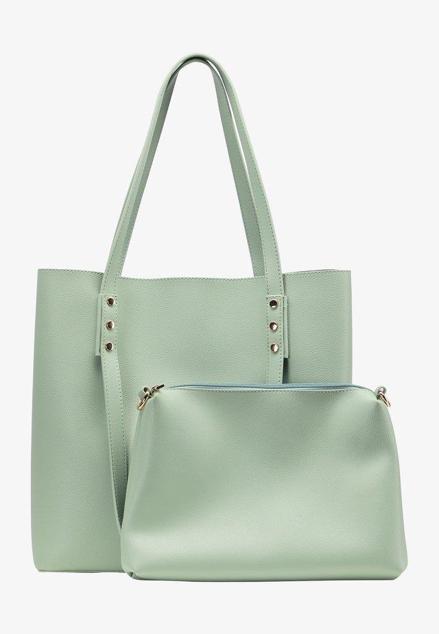 Shopping bags - mint