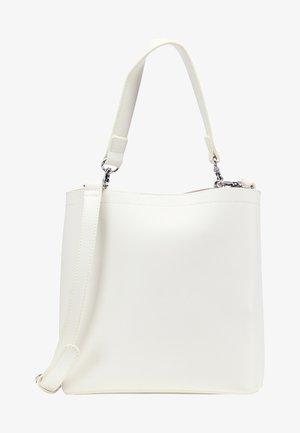 WHITE LABEL - Across body bag - white