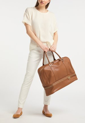 Weekend bag - cognac