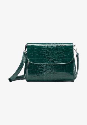 Schoudertas - smaragd