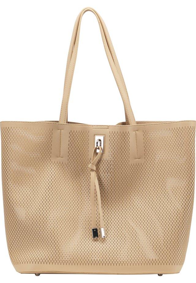 SHOPPER - Shopping bag - sand