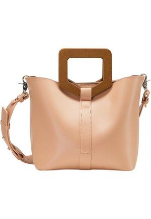 HENKELTASCHE - Handbag - altrosa