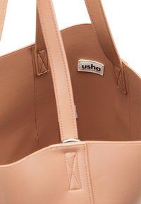 usha - TOTE BAG - Shopping bag - altrosa - 4