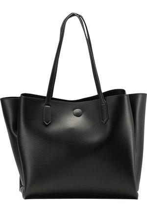 SCHULTERTASCHE - Tote bag - schwarz