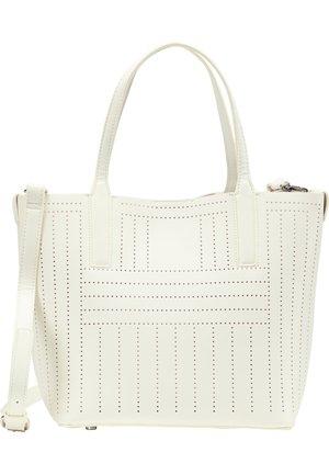SCHULTERTASCHE - Shopping bag - weiss