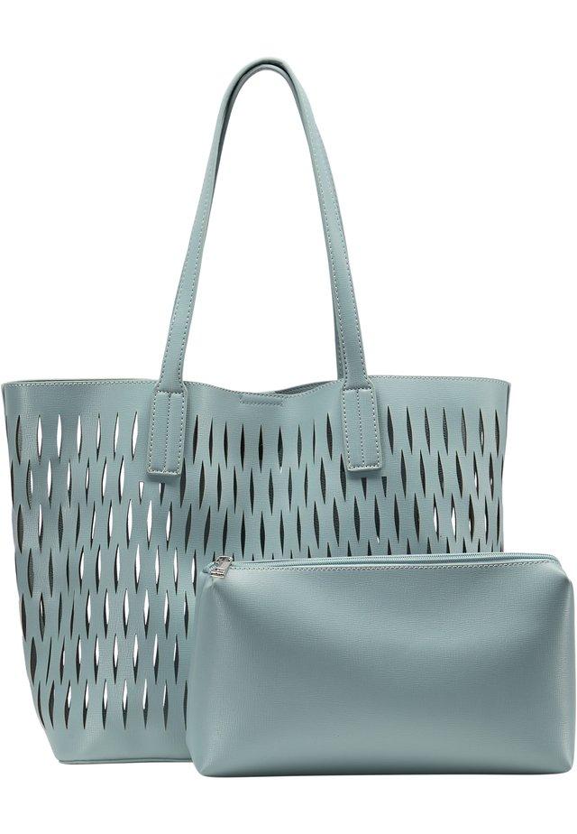 SHOPPER - Shopping bag - hellblau