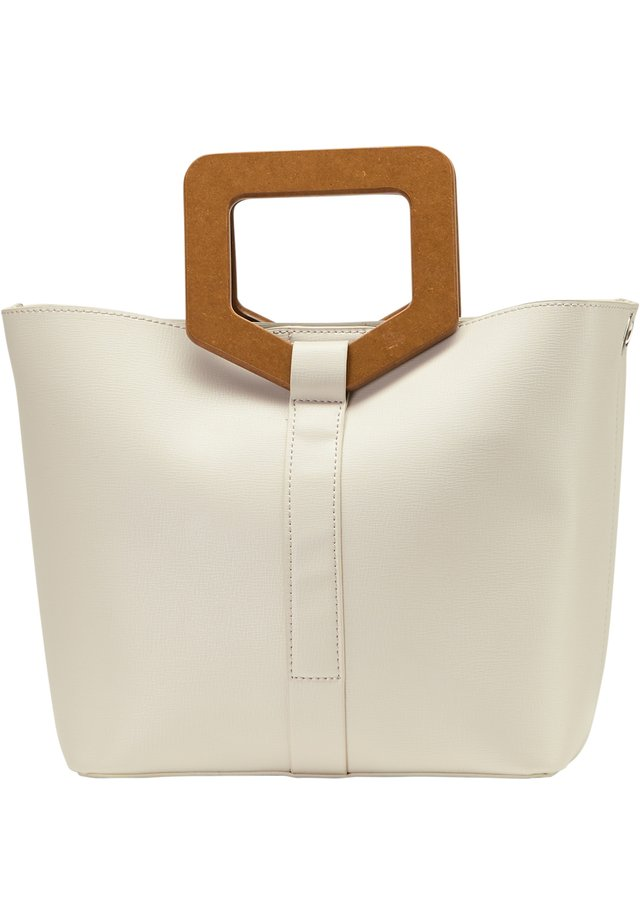 HENKELTASCHE - Handbag - hellgrau