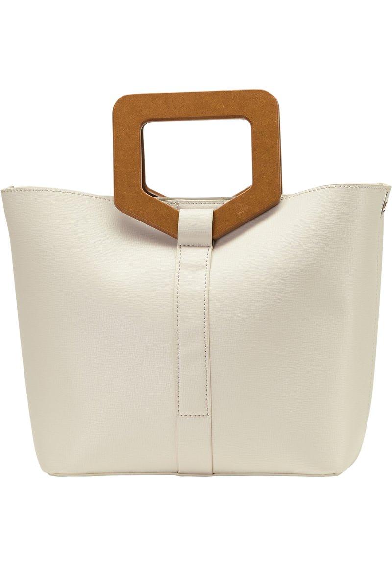 usha - HENKELTASCHE - Handbag - hellgrau