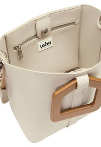 usha - HENKELTASCHE - Handbag - hellgrau - 4