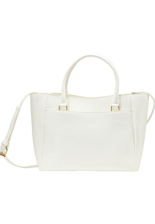 HENKELTASCHE - Handbag - weiss