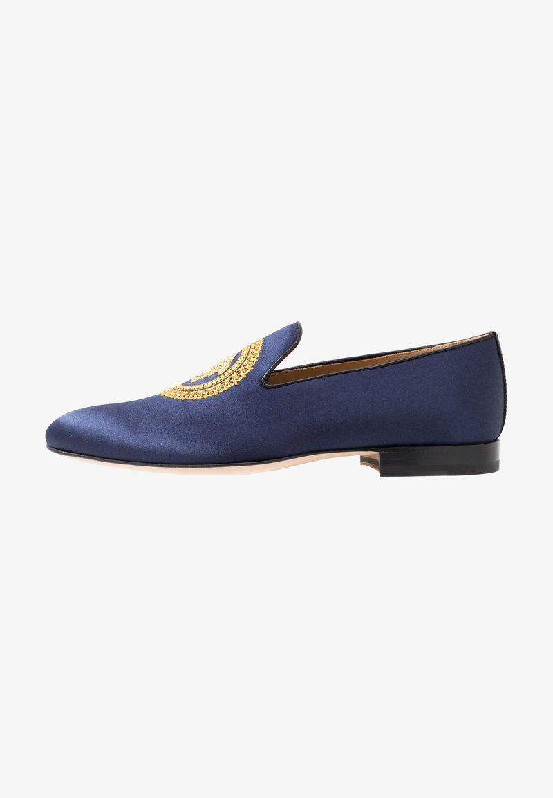 Versace - Slip-ons - navy/oro caldo
