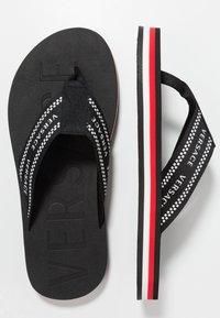 Versace - T-bar sandals - black - 1