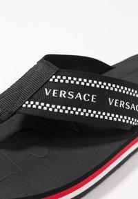 Versace - T-bar sandals - black - 5
