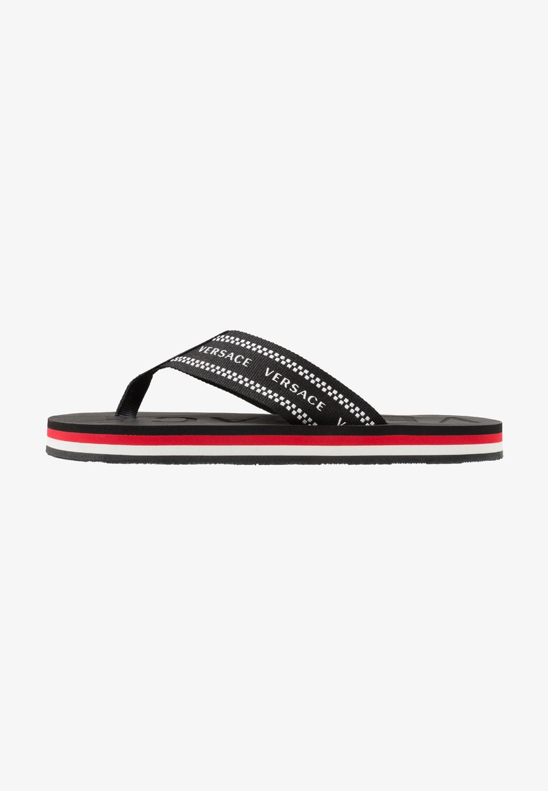 Versace - T-bar sandals - black