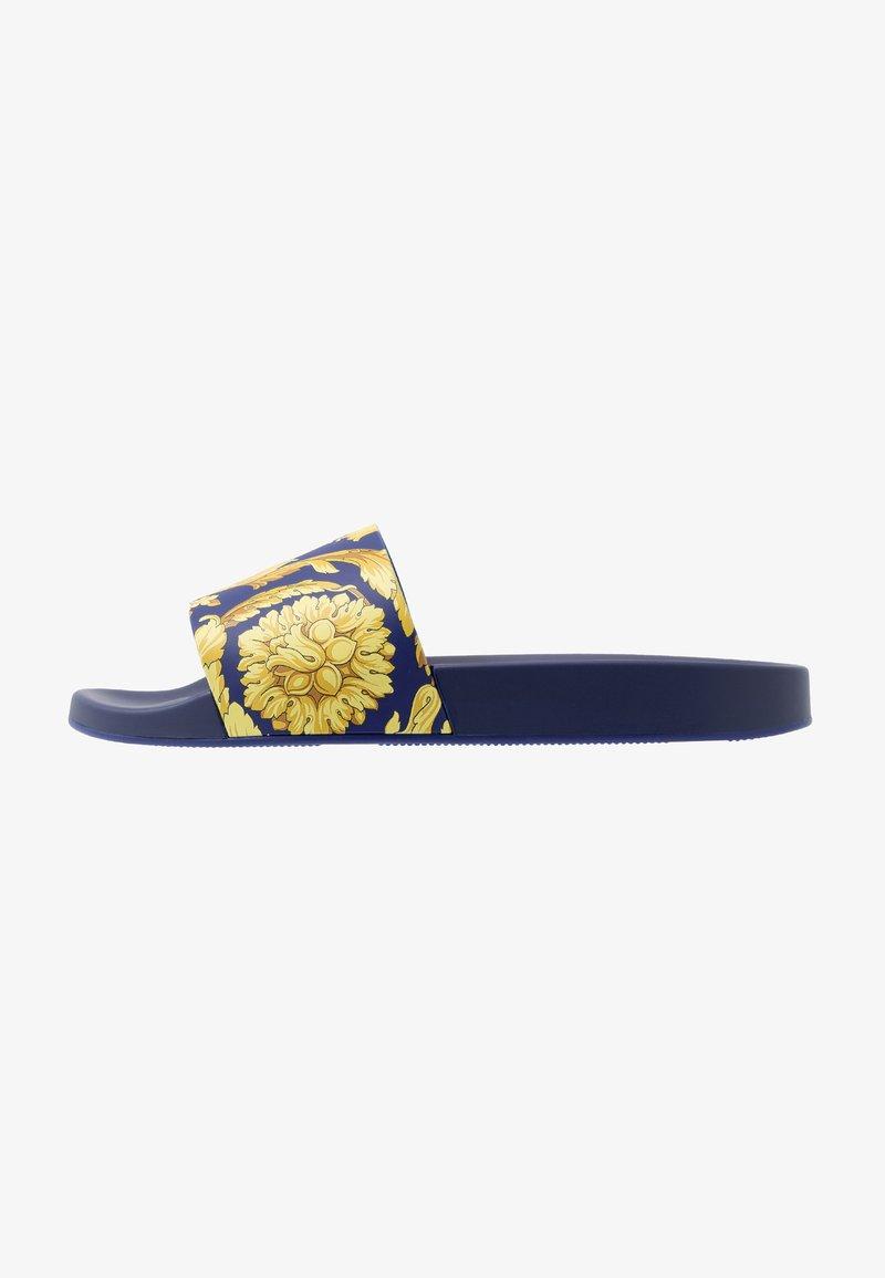 Versace - Badesandaler - bluette oro