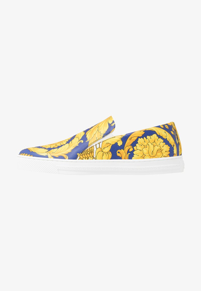 Versace - Slipper - bluette/oro