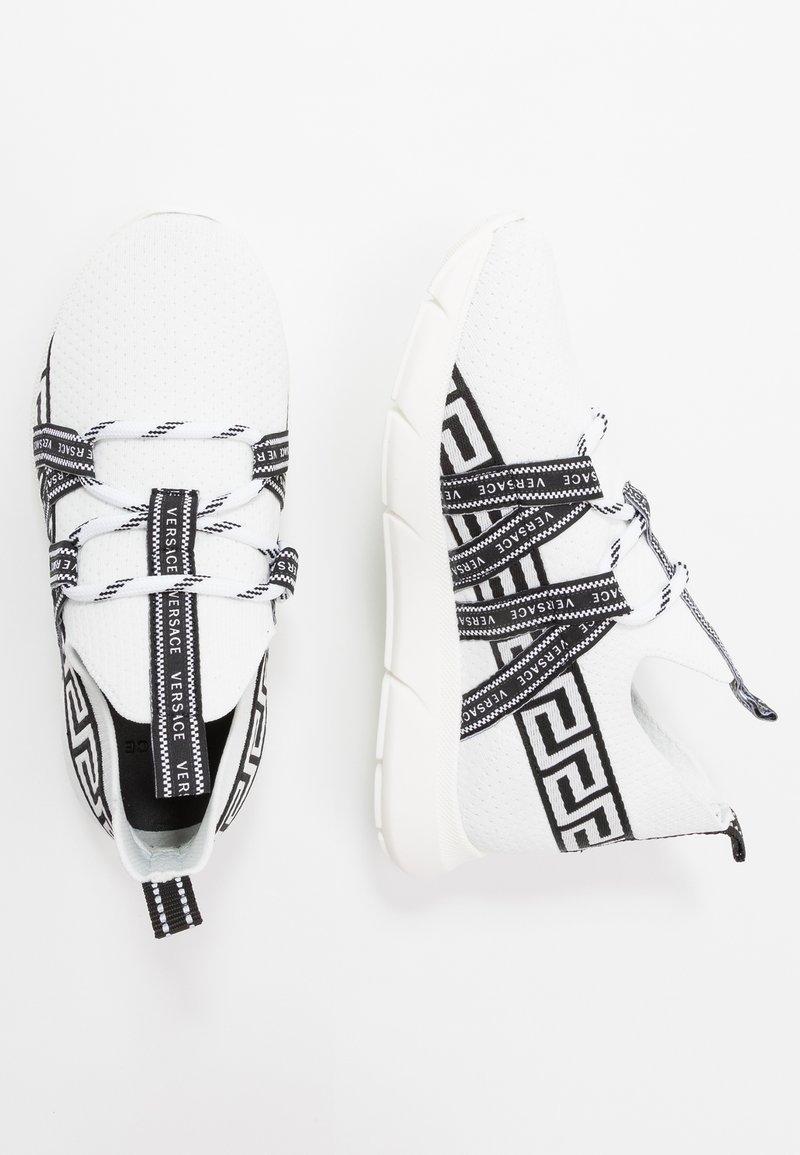 Versace - CALZINO - Matalavartiset tennarit - offwhite